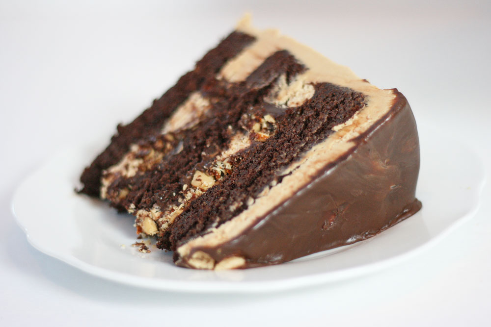 Mocha Almond Fudge Cake - Cake Paper Party