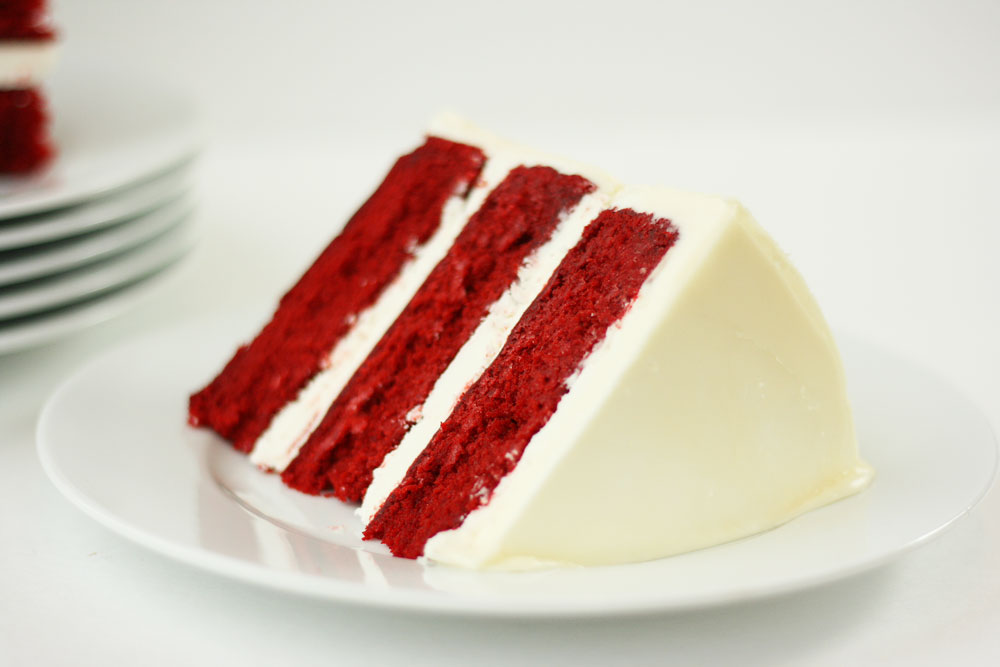 Red Velvet Cake With Fluffy White Frosting Recipes — Dishmaps