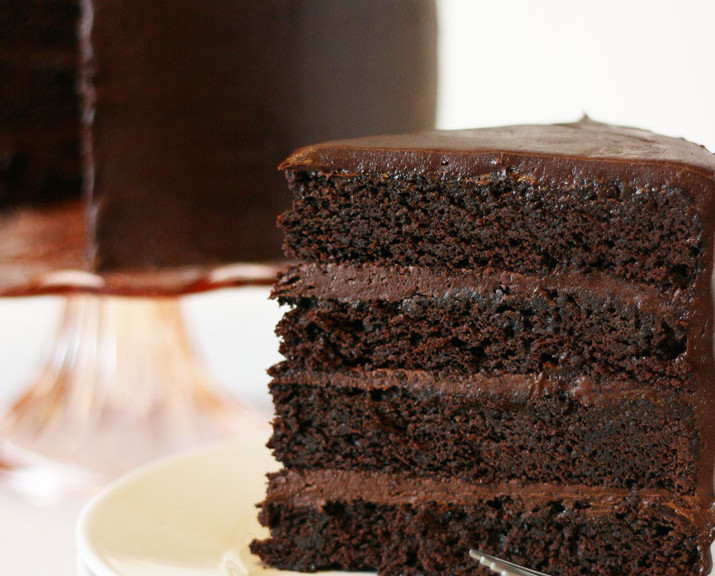 Firm Chocolate Cake Recipe