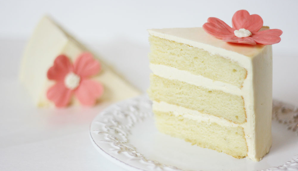 Vanilla Sour Cream Layer Cake