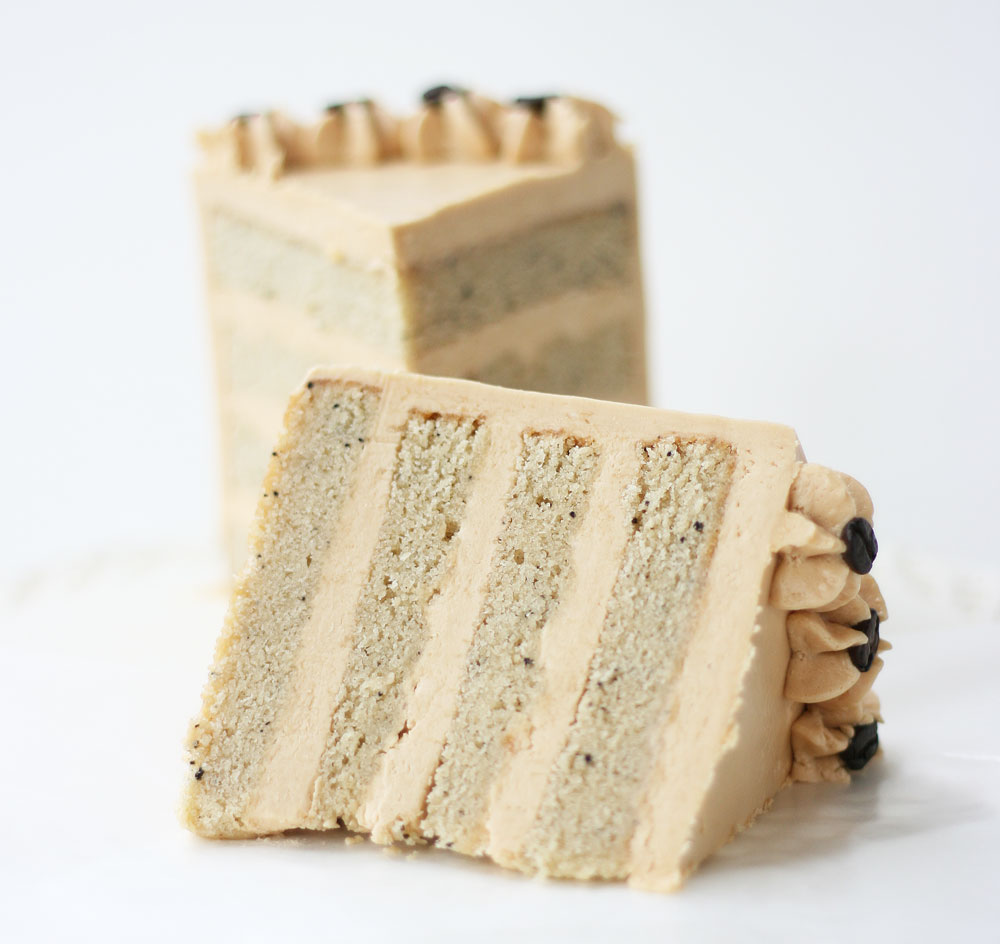 White Chocolate Espresso Cake