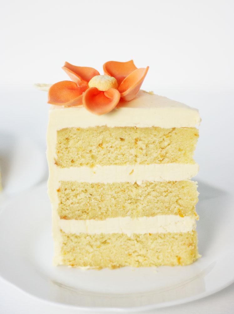 Plain Orange Cake Recipe